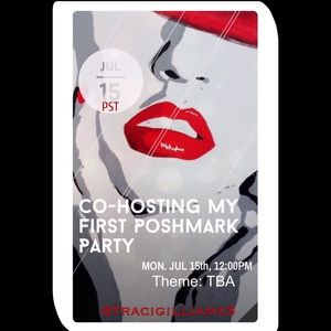 Co-Hosting My 1st Poshmark Party 7/15/19 @12PM PST